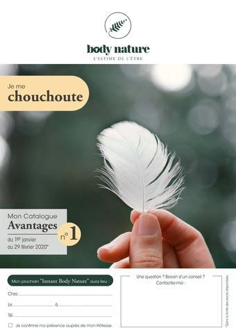 Body Nature catalogue publicitaire (valable jusqu'au 29-02)