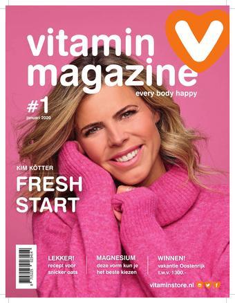 Vitaminstore reclame folder (geldig t/m 31-01)