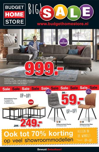 Budget Home Store reclame folder (geldig t/m 02-02)