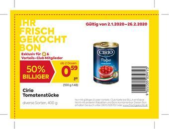 Billa Werbeflugblatt (bis einschl. 01-02)