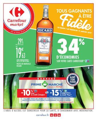 Carrefour Market catalogue publicitaire (valable jusqu'au 19-01)
