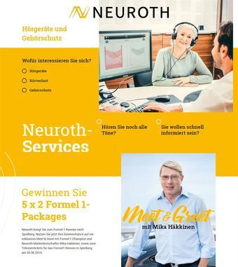 Neuroth Werbeflugblatt (bis einschl. 31-03)
