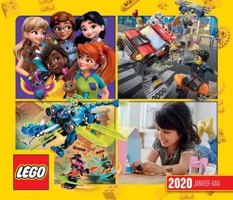 LEGO catalogue publicitaire (valable jusqu'au 31-05)