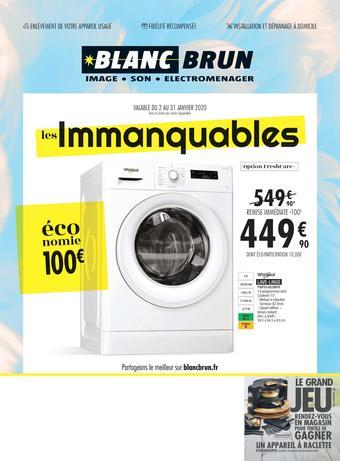 Blanc Brun catalogue publicitaire (valable jusqu'au 31-01)