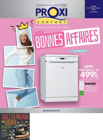 Proxi Confort catalogue publicitaire (valable jusqu'au 31-01)