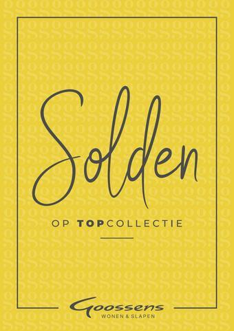 Goossens reclame folder (geldig t/m 31-01)