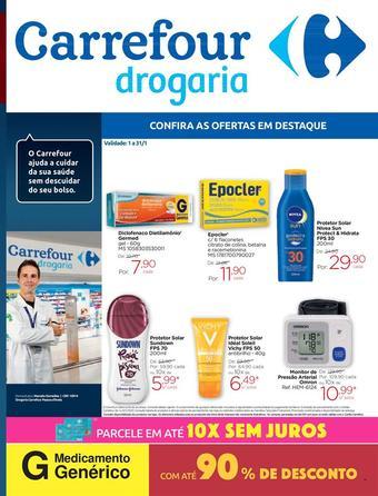 Drogarias Carrefour catálogo promocional (válido de 10 até 17 31-01)
