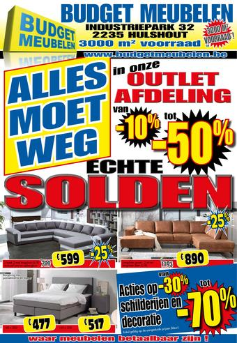 Budget Meubelen reclame folder (geldig t/m 31-01)