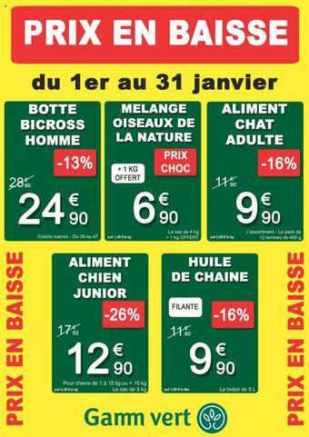 Gamm vert catalogue publicitaire (valable jusqu'au 31-01)