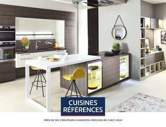 Cuisines Références catalogue publicitaire (valable jusqu'au 31-01)