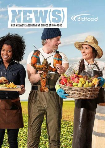Bidfood reclame folder (geldig t/m 31-03)