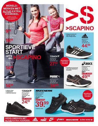 Scapino reclame folder (geldig t/m 19-01)