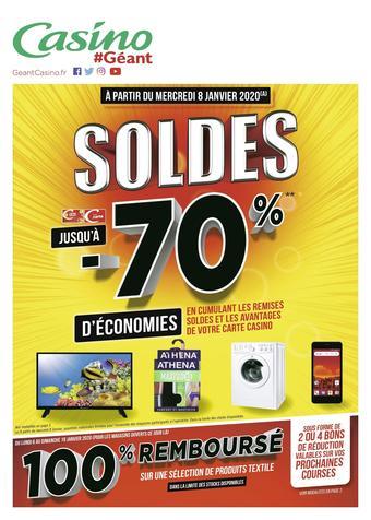 Géant Casino catalogue publicitaire (valable jusqu'au 19-01)
