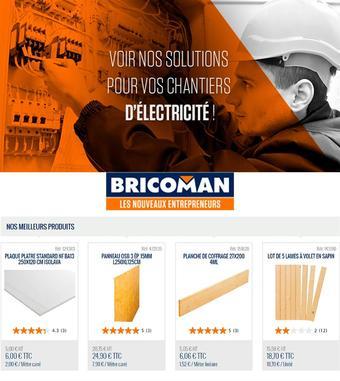 Bricoman catalogue publicitaire (valable jusqu'au 03-02)