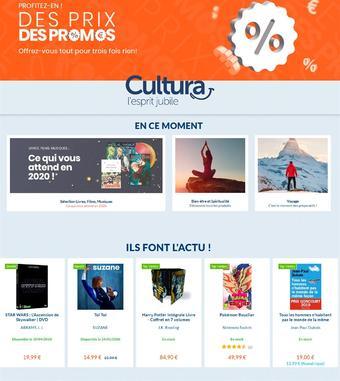 Cultura catalogue publicitaire (valable jusqu'au 02-02)