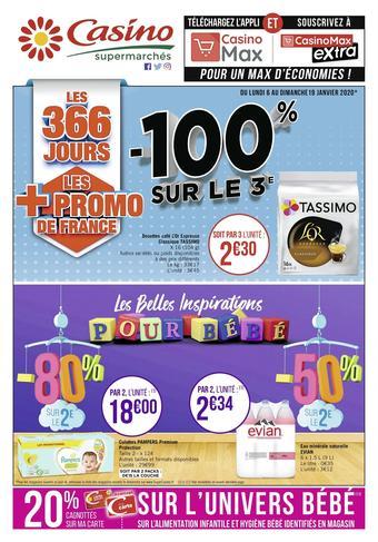 Casino Supermarchés catalogue publicitaire (valable jusqu'au 19-01)