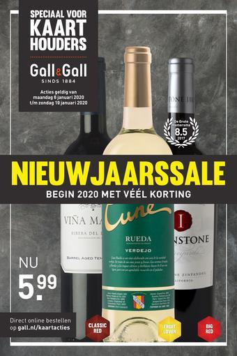 Gall & Gall reclame folder (geldig t/m 19-01)
