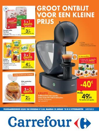 Carrefour reclame folder (geldig t/m 20-01)