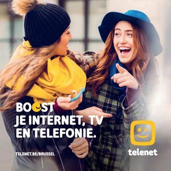 Telenet reclame folder (geldig t/m 02-02)