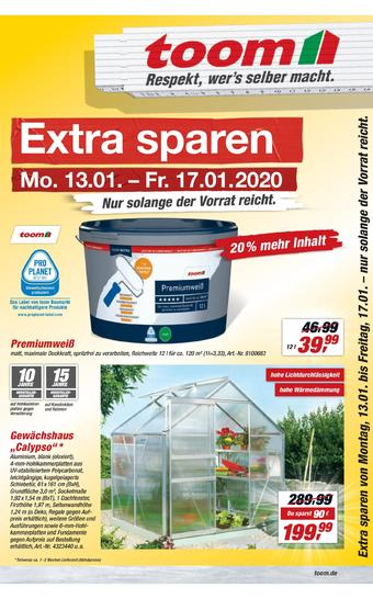 toom Baumarkt Prospekt (bis einschl. 17-01)