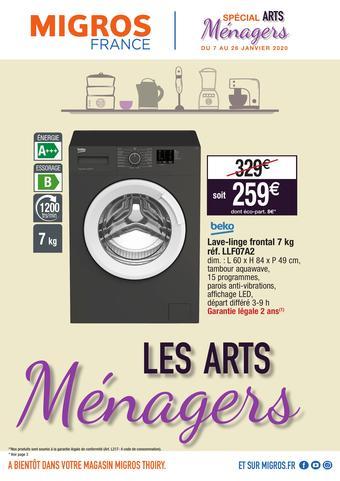 Migros catalogue publicitaire (valable jusqu'au 26-01)