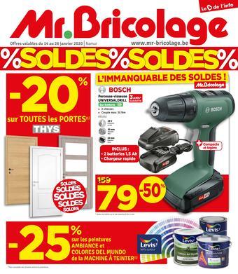 Mr Bricolage reclame folder (geldig t/m 26-01)