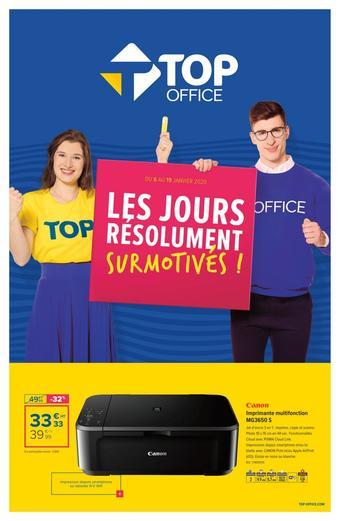 Top Office catalogue publicitaire (valable jusqu'au 19-01)