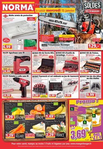 Norma catalogue publicitaire (valable jusqu'au 21-01)