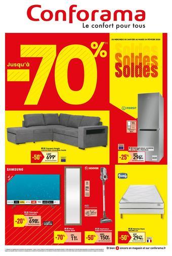 Conforama catalogue publicitaire (valable jusqu'au 04-02)