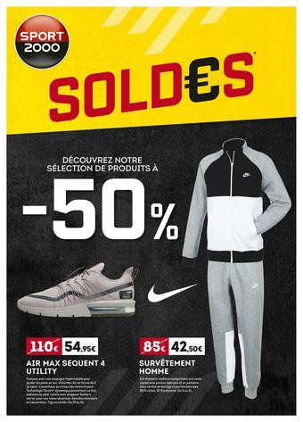 Sport 2000 catalogue publicitaire (valable jusqu'au 04-02)