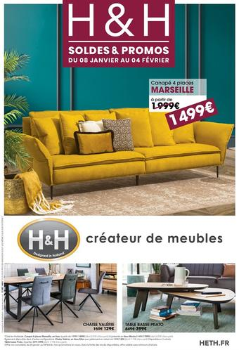 H&H catalogue publicitaire (valable jusqu'au 04-02)
