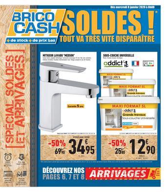 Brico Cash catalogue publicitaire (valable jusqu'au 23-01)