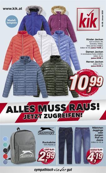 KiK Werbeflugblatt (bis einschl. 31-01)