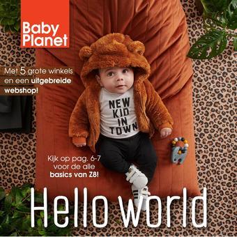 Babyplanet reclame folder (geldig t/m 31-01)