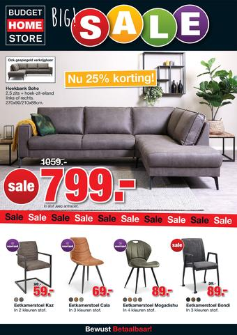 Budget Home Store reclame folder (geldig t/m 16-02)