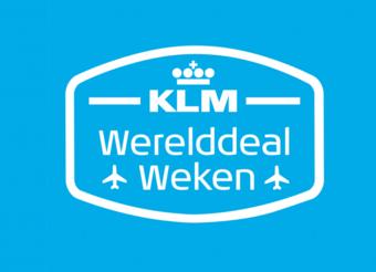 KLM reclame folder (geldig t/m 27-01)