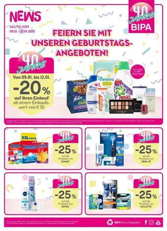Bipa Werbeflugblatt (bis einschl. 22-01)