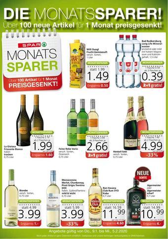 Spar Werbeflugblatt (bis einschl. 05-02)