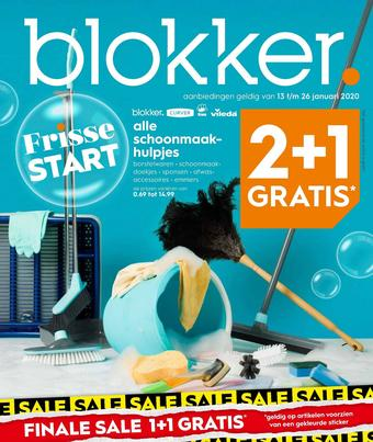 Blokker reclame folder (geldig t/m 26-01)
