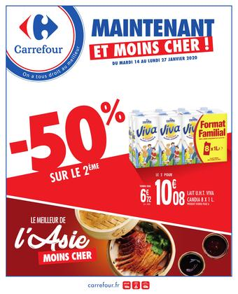 Carrefour catalogue publicitaire (valable jusqu'au 27-01)