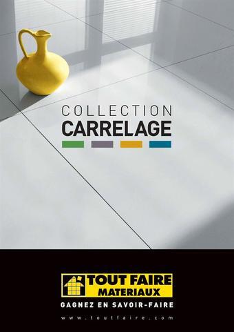 Tout faire matériaux catalogue publicitaire (valable jusqu'au 31-01)