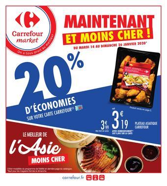 Carrefour Market catalogue publicitaire (valable jusqu'au 26-01)