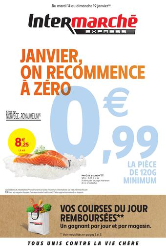 Intermarché Express catalogue publicitaire (valable jusqu'au 19-01)