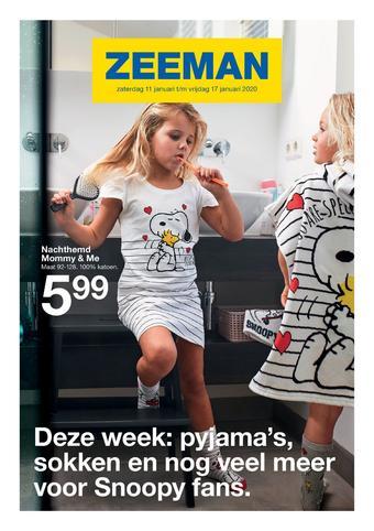 Zeeman reclame folder (geldig t/m 17-01)