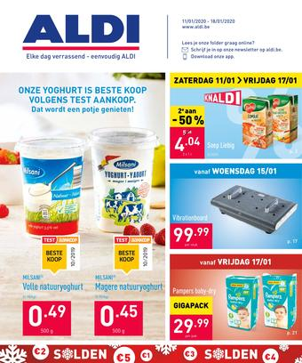 ALDI reclame folder (geldig t/m 18-01)