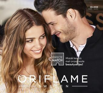 Oriflame reclame folder (geldig t/m 30-01)