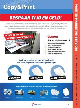 Office Centre reclame folder (geldig t/m 11-02)