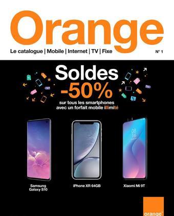 Orange reclame folder (geldig t/m 31-01)