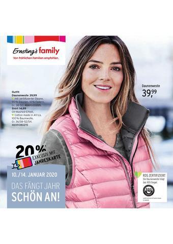 Ernstings family Prospekt (bis einschl. 19-01)