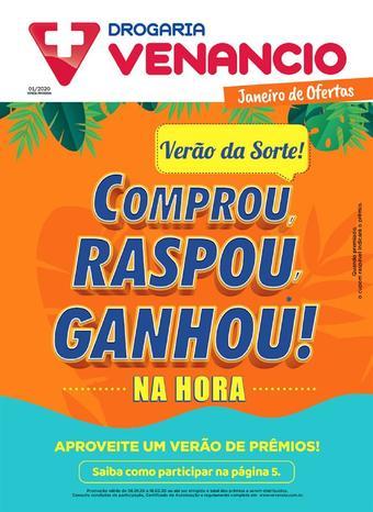 Drogaria Venancio catálogo promocional (válido de 10 até 17 31-01)